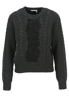 See by Chloé See By Chloe Lace Sweater