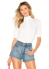 See by Chloé See By Chloe Lace Trim Sweater