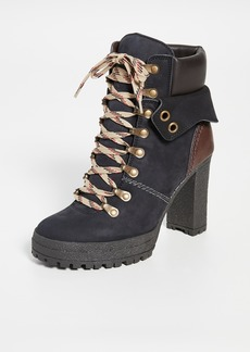 See by Chloé See by Chloe Lace Up Boots