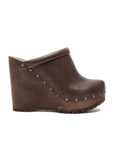 See by Chloé See By Chloe Leather Clive Wedges