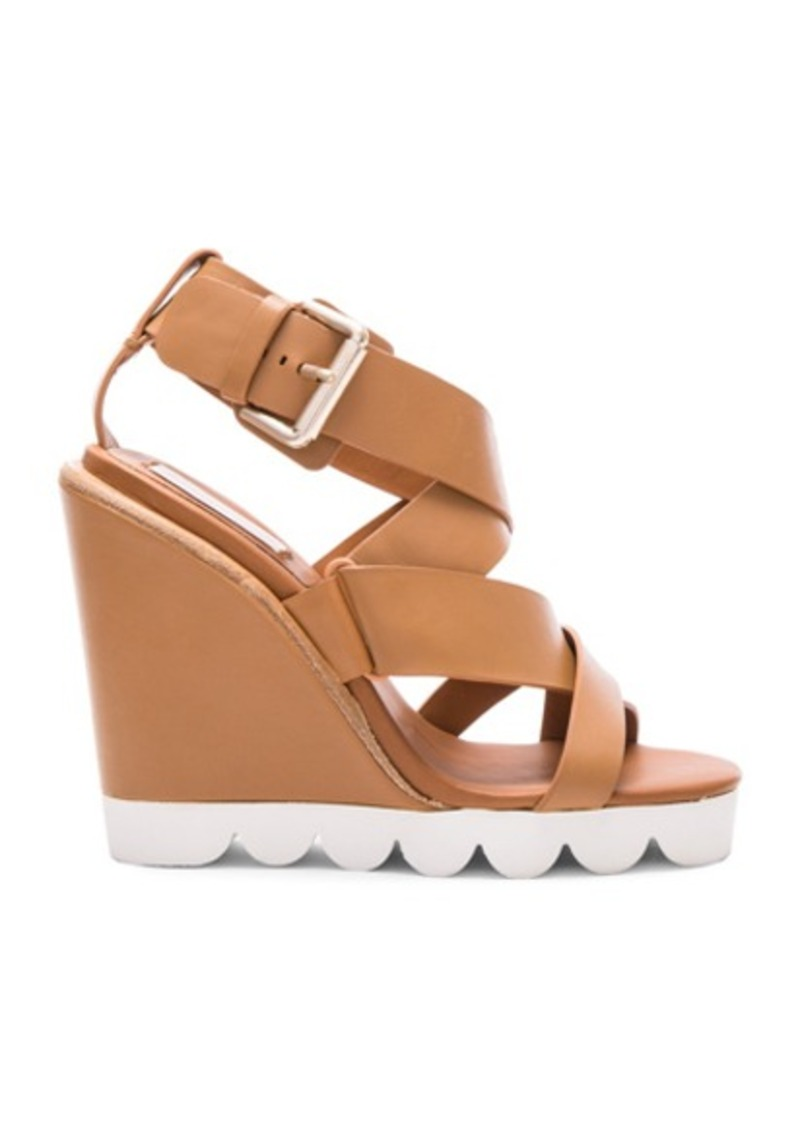 See by Chloé See By Chloe Leather Tiny Wedges