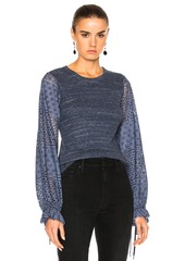 See by Chloé See By Chloe Long Sleeve Jersey Top