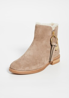 See by Chloé See by Chloe Louise Flat Shearling Boots
