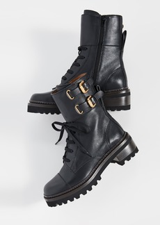 See by Chloé See by Chloe Mallory Combat Lug Boots