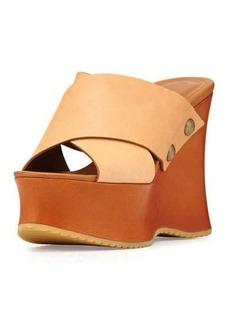 See by Chloé See by Chloe Maya Leather Platform Wedge Sandal