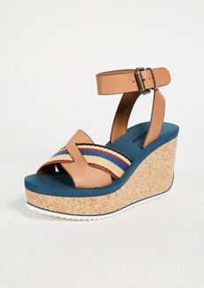 See by Chloé See by Chloe Mina Cork Wedge Sandals