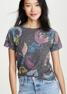 See by Chloé See by Chloe Paisley Distressed Tee