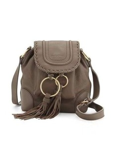 See by Chloé See by Chloe Polly Leather Flap Bucket Bag