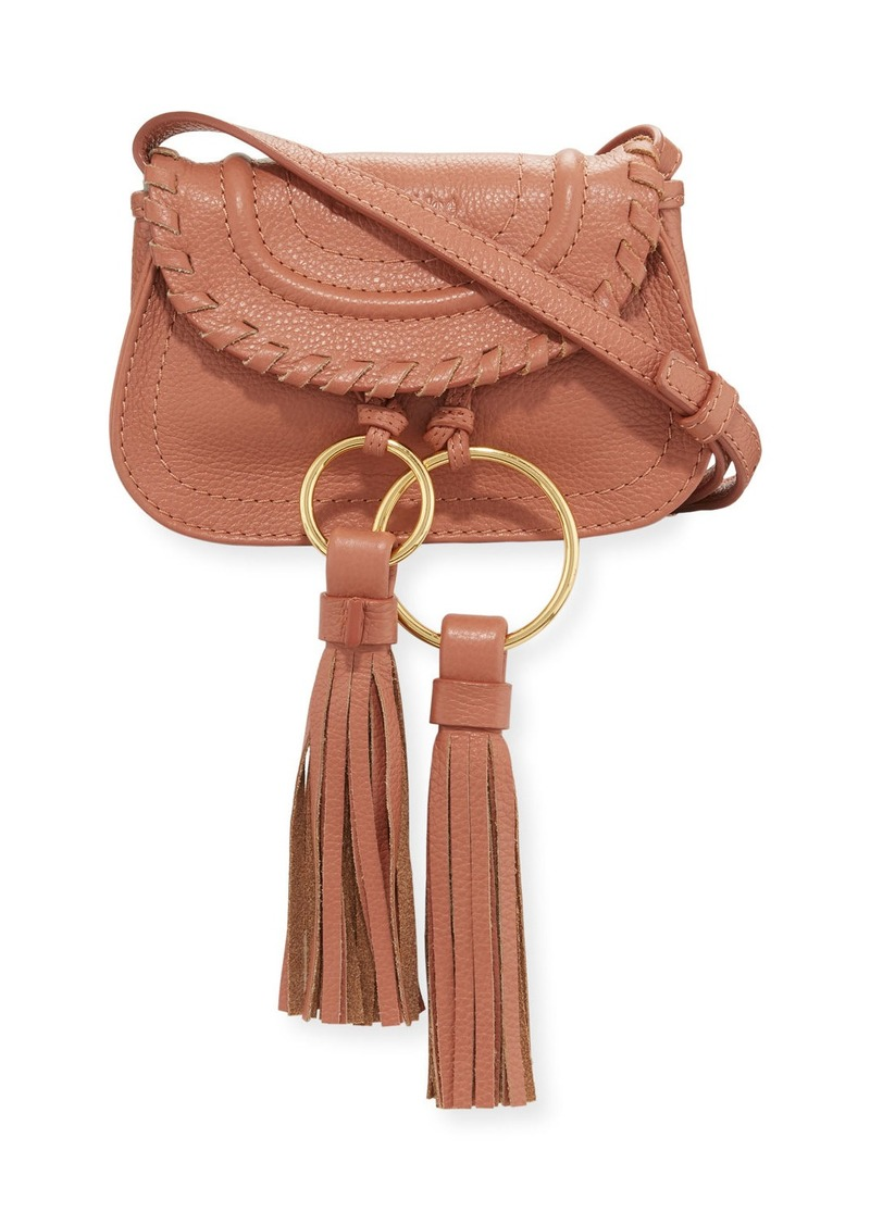 01e51a259a See by Chloé Polly Mini Suede Crossbody Bag
