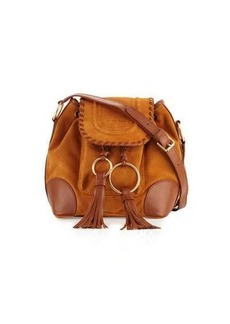 See by Chloé See by Chloe Polly Suede Flap Bucket Bag