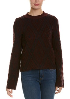 See by Chloé See By Chloe Printed Wool Sweater