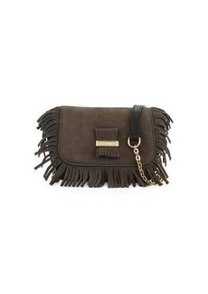 See by Chloé See by Chloe Rosita Mini Fringe Leather Crossbody Bag