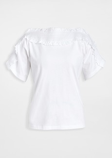 See by Chloé See by Chloe Ruffle Short Sleeve Tee