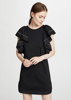 See by Chloé See by Chloe Ruffle Sleeve Dress