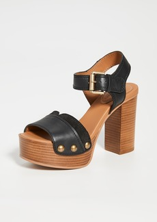 See by Chloé See by Chloe Saya Tall Clog Sandals