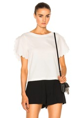 See by Chloé See By Chloe Scallop Sleeve Top