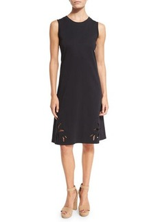 See by Chloé See by Chloe Sleeveless Embroidered Jersey Dress