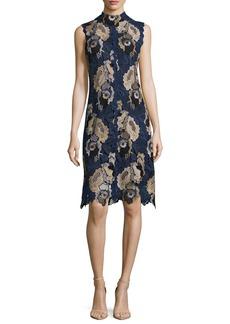 See by Chloé See by Chloe Sleeveless Lace Sheath Dress