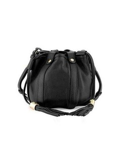 See by Chloé See by Chloe Small Leather Drawstring Bucket Bag