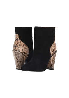 See by Chloé See by Chloe Suede + Snake Bootie