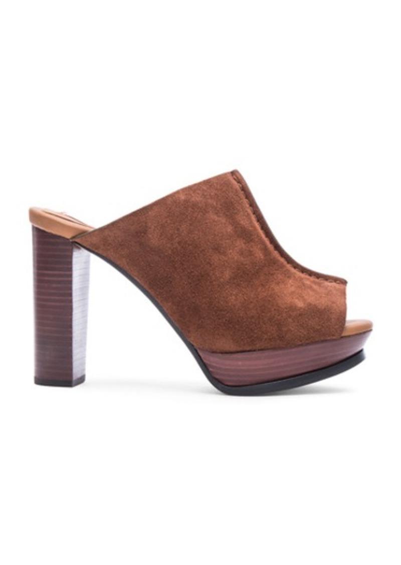 See by Chloé See By Chloe Suede Mule Platform Heels