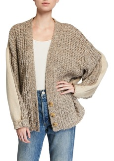 See by Chloé See by Chloe Three-Button Alpaca Cardigan