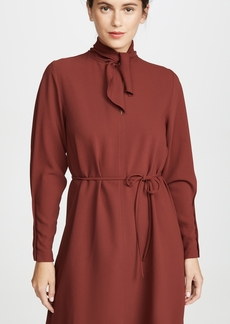 See by Chloé See by Chloe Tie Neck Long Sleeve Dress