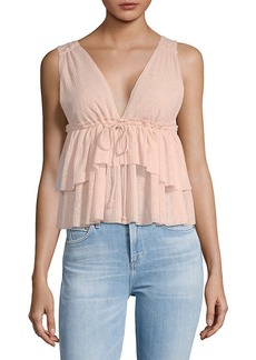 See by Chloé See By Chloe Tiered Babydoll Tank Top