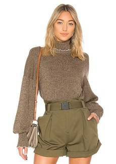 See by Chloé See By Chloe Turtleneck Trim Sweater