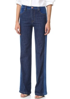 See by Chloé See by Chloe Tuxedo Wide Leg Jeans