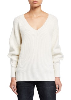 See by Chloé See by Chloe V-Neck Wool Pullover Sweater