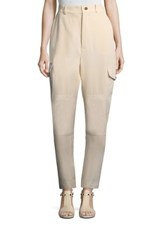 See by Chloé See by Chloe Vertical Stripe Four-Pocket Cargo Pants