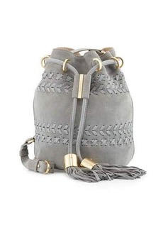 See by Chloé See by Chloe Vicki Small Suede Bucket Bag