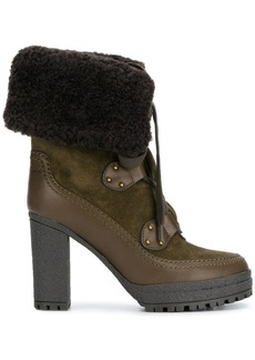 See by Chloé shearling lined boots