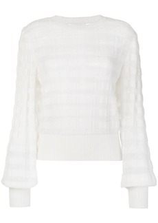 See by Chloé sheer striped sweater