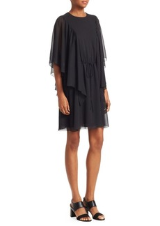 See by Chloé Short Sleeve Drape Dress