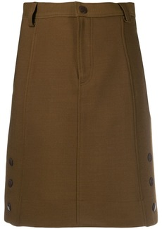 See by Chloé side button skirt
