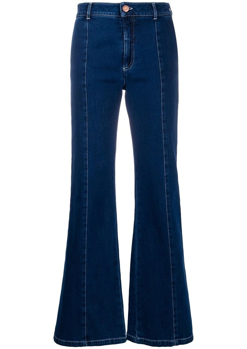See by Chloé Signature flared jeans
