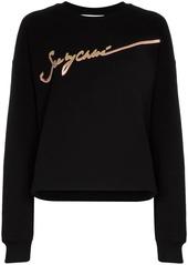See by Chloé signature logo sweatshirt