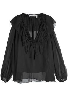 See by Chloé Silk Chiffon Blouse