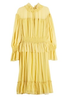 See by Chloé Silk Chiffon Dress