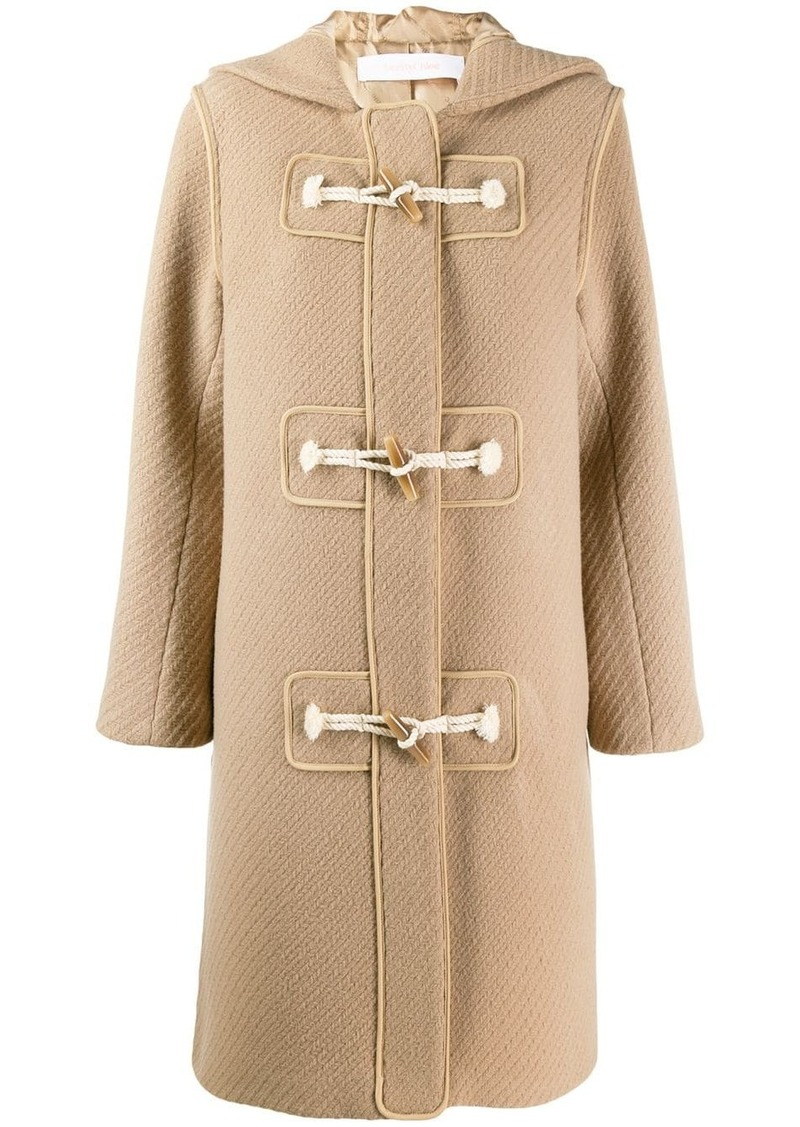 See by Chloé single-breasted coat