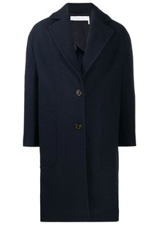 See by Chloé single-breasted fitted coat
