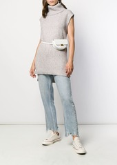 See by Chloé sleeveless turtleneck sweater