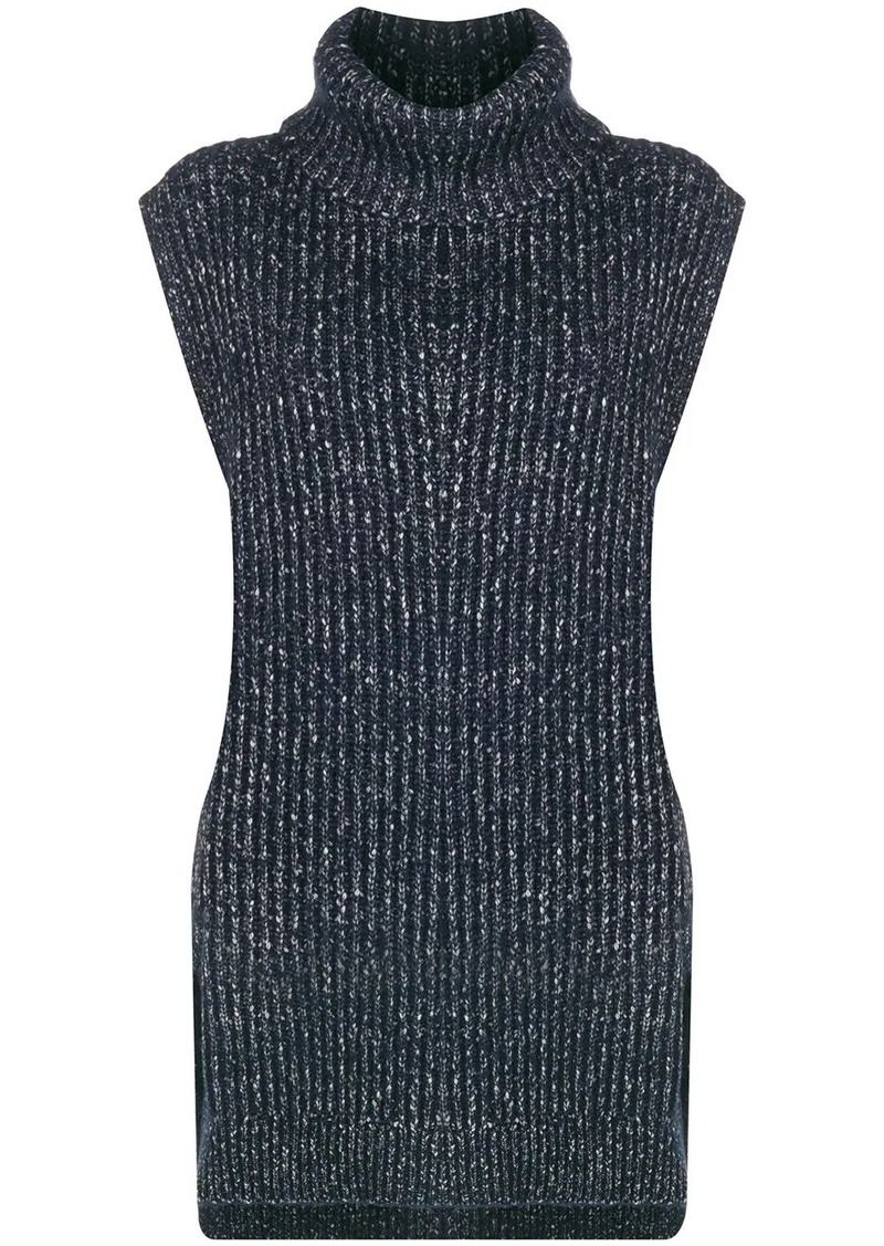 See by Chloé sleeveless turtleneck top