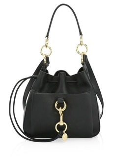 See by Chloé Small Tony Leather Bucket Bag