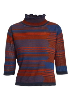 See by Chloé Space Dye Turtleneck Knit Sweater