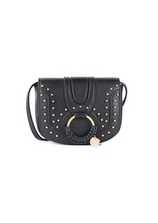 See by Chloé Star-Embellished Leather Crossbody Bag
