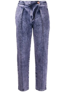 See by Chloé stonewashed cropped jeans