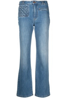 See by Chloé straight-leg cropped jeans
